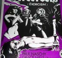 POSSESSION!! Exorcism European Film Poster