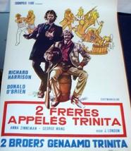 HAVOC!! 2 Brothers Called Trinita 1974 Euro Film Poster - $4.99