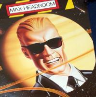 Max Headroom 1986 Coke Poster c-c-c-c-Catch the Wave!