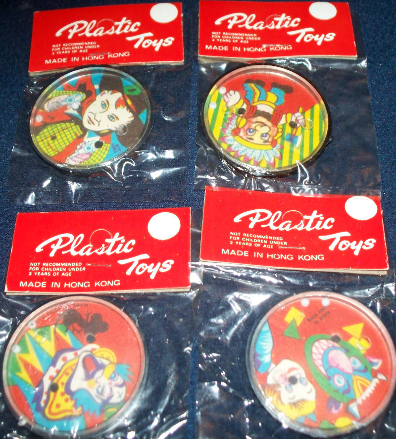 1960's Patience Puzzles 4 Different, Unopened