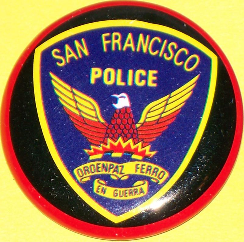 San francisco badge 002