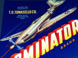 Air Battle! Dominator Crate Label, 1940s - $4.99