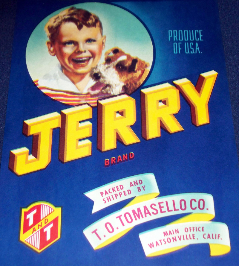 Jerry crate label 001