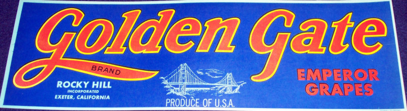 Golden gate crate label 001