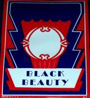 Made in USA! Black Beauty Label, 1950's