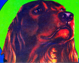 Adopt Your Own! Irish Setter Crate Label - $2.99