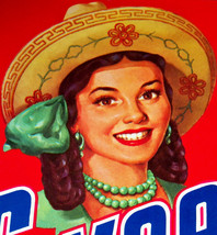 Pride of Mexico! Sweetmex Crate Label, 1940's - $3.99