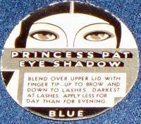 Very Unique!! Princess Pat Eye Shadow Label, 1920's