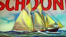 Famous! Schooner Crate Label, 1920's - $3.99