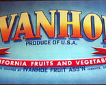 Ivanhoe crate label 001 thumb155 crop