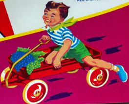 Nostalgia! Red Wagon Crate Label, 1940's - $2.99