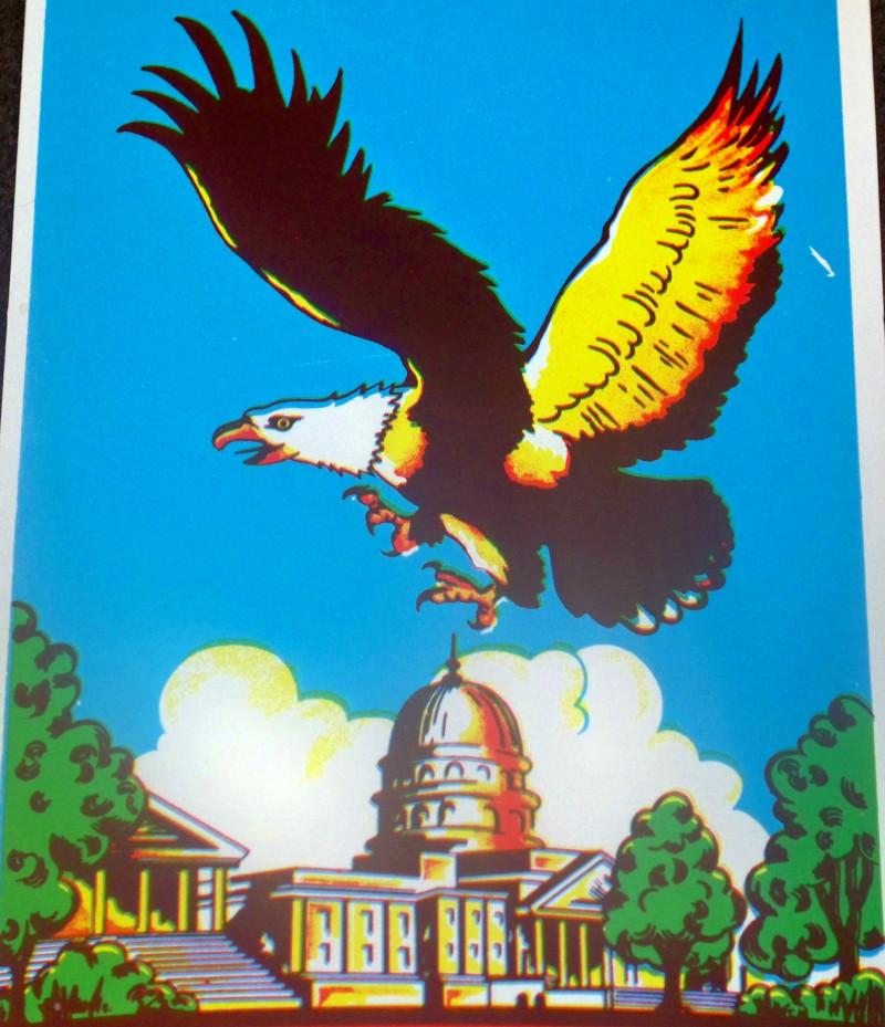 Eagle broom label 003