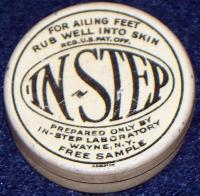 Tough Day at Work? In Step Advertising Tin, 1910's