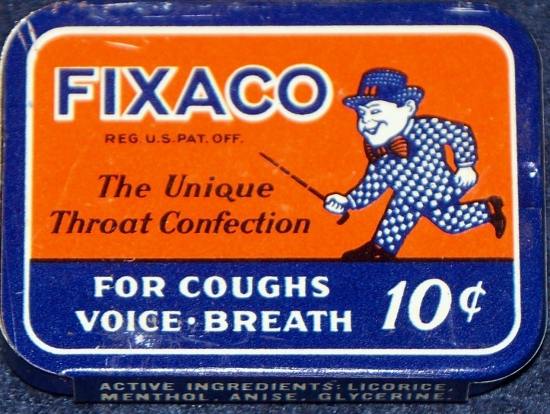 Fixaco advertising tin 001