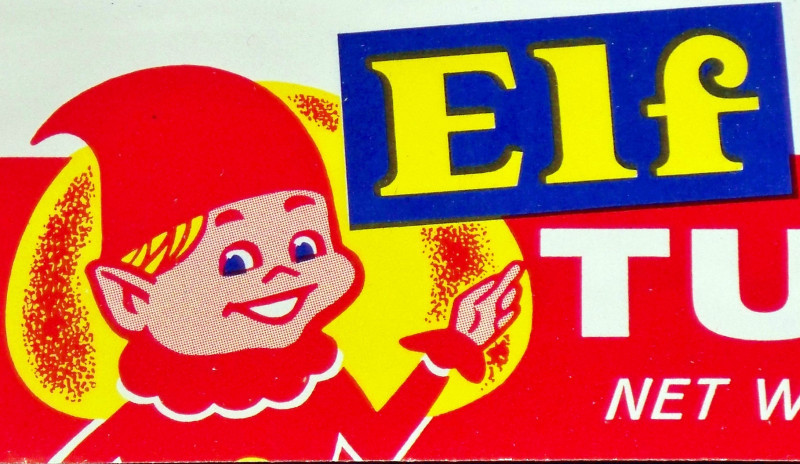 Elf tuna label 002