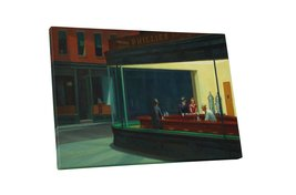 """Pingo World 0226QUI9G0A """"Nighthawks by Edward Hopper"""" Gallery Wrapped Canvas Art - $53.41"""