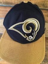 Los Angeles RAMS Football New Era Snapback Adult Cap Hat - $9.89