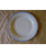 Fire King Alice Saucer White with Blue Trim 194... - $4.99