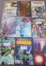 Comic Books Marvel DC Spiderman X-Men Spawn Thor Ironman Simpsons Treehouse - $37.05