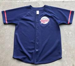 Minnesota Twins Torii Hunter Youth Size 18/20 Baseball Jersey MLB  - $9.90
