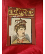 Old Time Needle Work Patterns 1975 March Magazine - $10.40