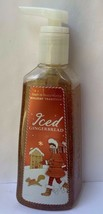 Bath Body Works ICED GINGERBREAD Anti Bacterial Deep Cleansing Hand Soap... - $16.78