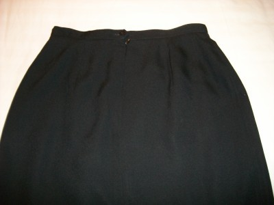 WOMEN J H COLLECTIBLES LONG BLACK DRESS SKIRT SIZE 8