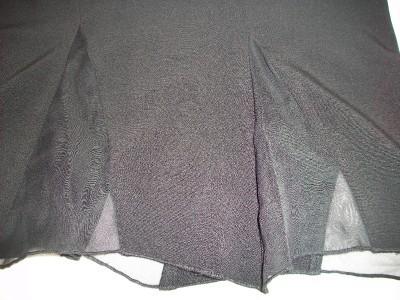 WOMEN STAR CITY BLACK DRESS SKIRT SIZE 5