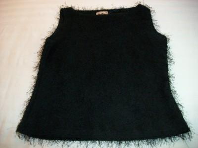 WOMEN FASHION2FASHION BLACK DRESS SHIRT TOP M MEDIUM