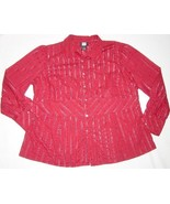 WOMEN STUDIO 1940 DRESS OR CAREER SHIRT TOP PLUS 22 W - $8.99