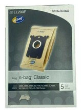 Electrolux EL200F  NEW S-Bag Classic Vacuum Cleaner Bags, Pack of 5 - $16.99