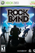 Pre-Owned ~ Rock Band (Microsoft Xbox 360, 2007) ~ CIB ~ Acceptable Cond - $4.94
