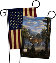 Morning Light - Impressions Decorative USA Vintage - Applique Garden Flags Pack  - $30.97