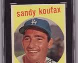 Sandy koufax 1959 topps  163 sgc80 thumb155 crop