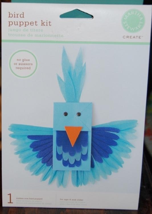 Dsc 1145 blue bird hand puppet kit
