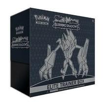 Burning Shadows Elite Trainer Box Pokemon TCG Sun & Moon Trading Cards S... - $42.95