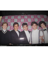 One Direction 1D Band Multi Purpose  Wristlet Wallet Cell Phone Case Pho... - $13.99