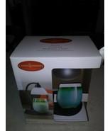 Aurora Candle Warmers Black Metal Lamp Model SALBLA-C New  - $45.53