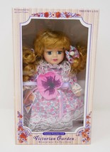 Victorian Garden Collection Porcelain Doll by Melissa Jane - $18.99