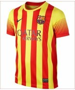 new NIKE Barca FC youth jersey dri-fit soccer 532809-703 FCB sz XL 13-15... - $36.71