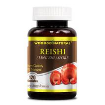 Woohoo Natural Reishi (Ling Zhi) Spore - 120 Capsules FRESH - $50.68