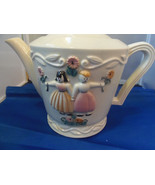 Vintage Porcelier Vitreous Hand Painted USA Chi... - $42.99
