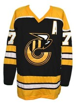 Custom Name # Cincinnati Stingers Hockey Jersey New Yellow Rich Leduc Any Size image 1