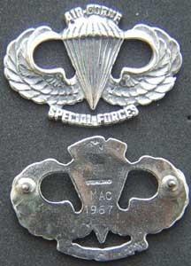 P 1634 sf usaf paratroop