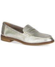 Sperry Women's Seaport Penny Memory Foam Loafers Platinum - $64.99