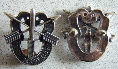Vietnam US Army SF 'pierced skull' DI Sterling