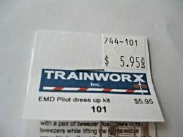 Trainworx Stock # 101 EMD Pilot Dress Up Kit N-Scale image 2