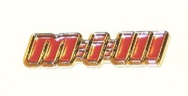Mission Impossible III 3 Movie Logo Promo Enamel Metal Lapel Pin 2006 MINT - $5.94