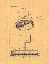 Pizza Sauce Spreader Patent Print - $7.95+