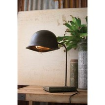 GwG Outlet Vintage Army Helmet Desk Lamp NVY1000 - $150.64
